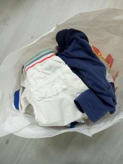 assorted boys and girls apparels (1-4yrs old)