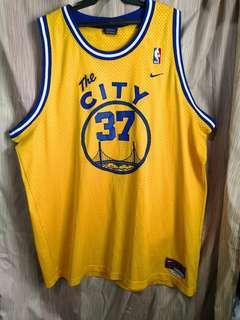 Nick Van Exel Golden State Warriors City jersey