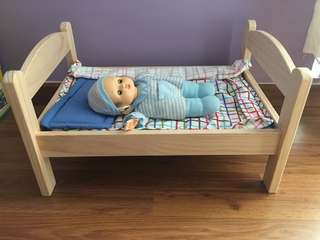 Doll bed ➕ Doll