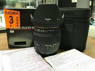 🚚 曙光數位 SIGMA 18-50mm F2.8 for Nikon