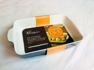 Fontignac Ovenware - Rectangular Dish 26cm