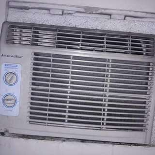 american Home .5hp Window Type Aircon