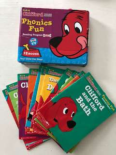 Clifford Phonics readers