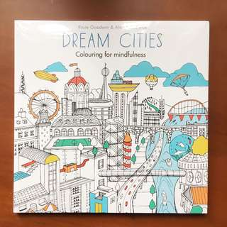 Adult Coloring Book (Bought for 500 php)