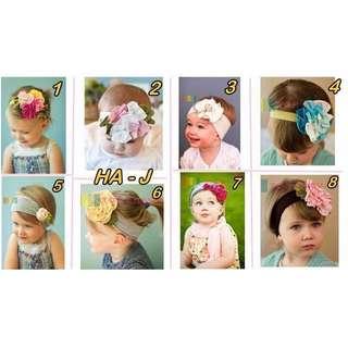 🚚 BN baby kid Hairband headband 0-6yrs old
