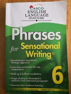 🚚 CASCO primary 6 english language study guide phrases for sensational writing