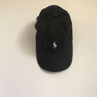 Polo 帽子 黑色