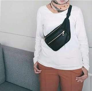 Aleya Waist Bag Black