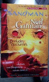 The sandman volume one - preludes and nocturnes