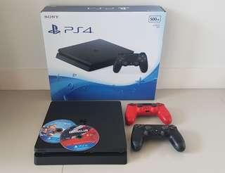PlayStation 4 slim version 500GB