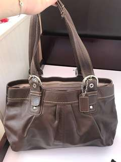 Coach bag- 80%new (leather)