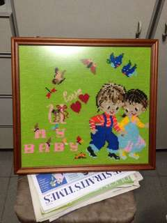 Art with frame