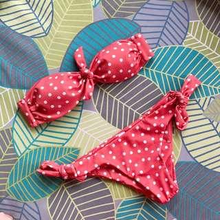 Nekid Swimwear Polka Dot Bikini