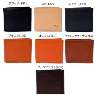 代購 意大利 IL BISONTE MAN'S BI-FOLD WALLET IN COWHIDE LEATHER 皮革銀包