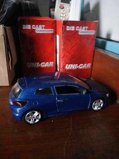 VW scirocco car 1:38 MSZ