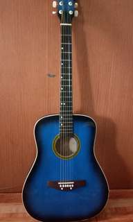 Guitar With free bag and pick