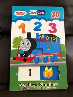 Belajar angka - my first number Thomas