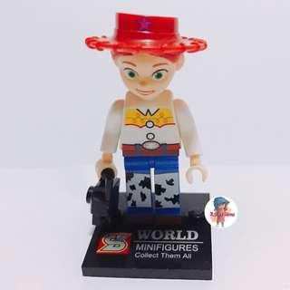 迪士尼 toystory 翠絲 lego