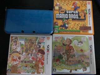 3ds主機 連3Games