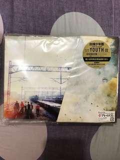 "BTS ""Youth ""日版 初回限定盤CD+DVD"