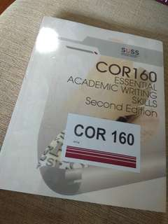 COR 160 - Essential Academic Writing Skills (2nd Edition)