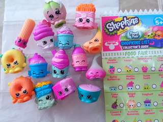 Bundle Sale! 15 Food Fair Shopkins for $10.00