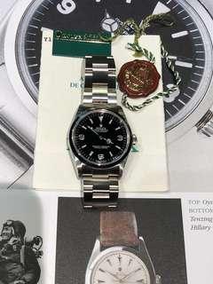 Rolex-114270-Y頭-888-行貨-全齊-冇盒!