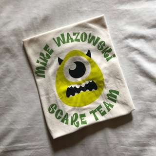 Uniqlo Mike Wazowski Top