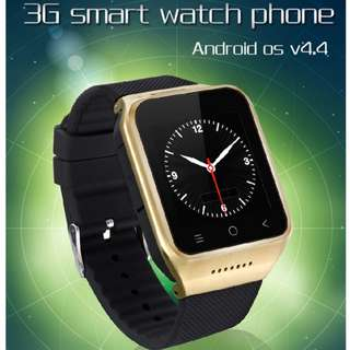 🚚 Smart watch phone 3G network Waterproof RAM: 512MB, ROM: 4GB Support GPS, WiFi, Bluetooth, FM, Recorder
