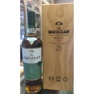 Macallan 25 Years Fine Oak 700ml (行貨 )
