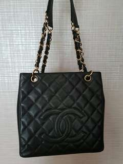 CHANEL PST Small Caviar GHW