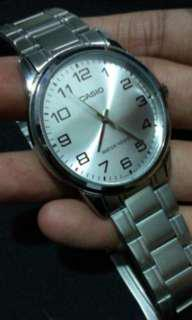 Casio Stainless steel japan movement watch