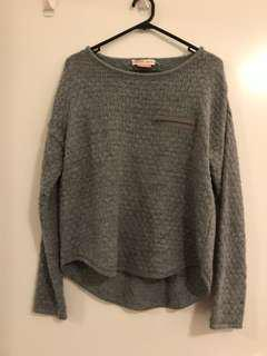 Bershka Grey Knitwear