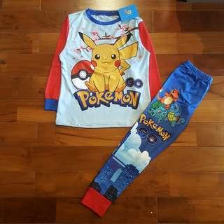 GW Piyama pokemon biru