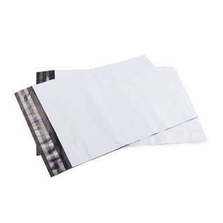 (15 PCS LEFT) INSTOCKS 25cm x 35cm White Polymailers