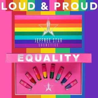 Jeffree Star Mini Velour Liquid Lipstick Equality