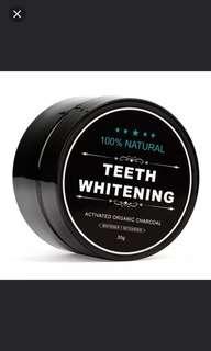 Teeth charcoal