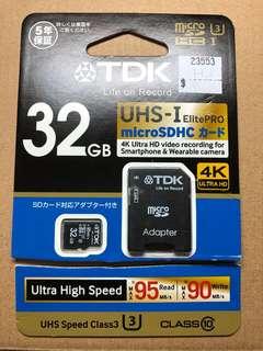 TDK Elite Pro 32GB MicroSD Card