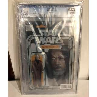CGC 9.8 Star Wars #3 Obi-wan Ben Kenobi Action Figure Variant by John Tyler Christopher