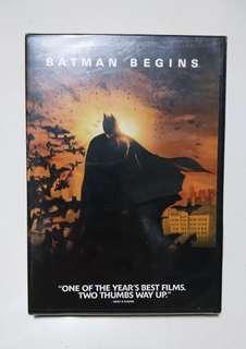 Batman Begins DVD