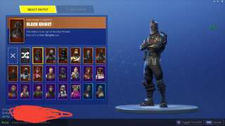 Fortnite black Knight account