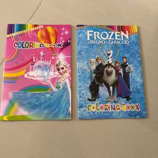 $1.20 + frozen colouring + sticker book