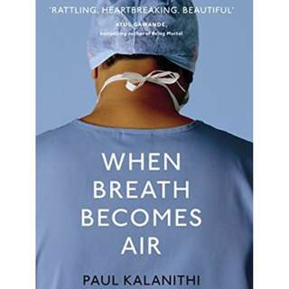 [PRE-ORDER] When Breath Becomes Air by Paul Kalanithi