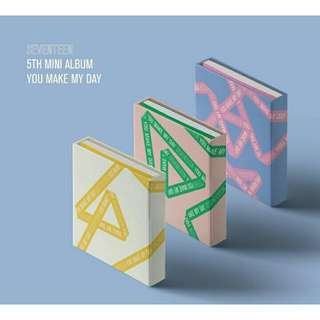 SEVENTEEN U MAKE MY DAY ALBUM