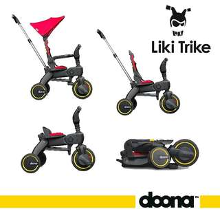 📣Introducing 《WORLD SMALLEST FOLDING TRIKE》Doona Liki Trike 4 in 1🚴‍♀️🚴‍♂️