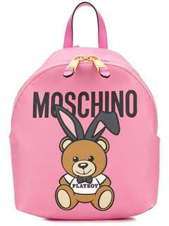 Pre order Moschino bear Backpack pink bear