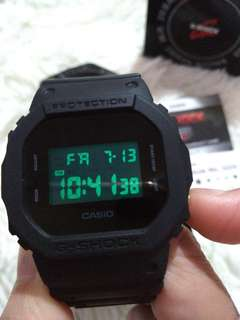 Gshock black out edition