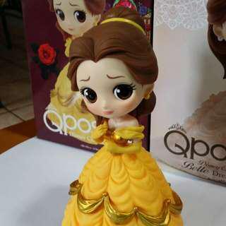 Qposket Disney characters belle 美女與野獸 貝兒公主