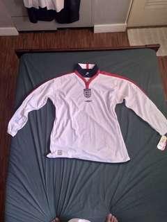 2003/2005 Vintage England Reversible Football Kit