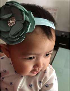 Baby Girl Beautiful Feather Bow Headband